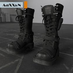 Warriors Black Boots