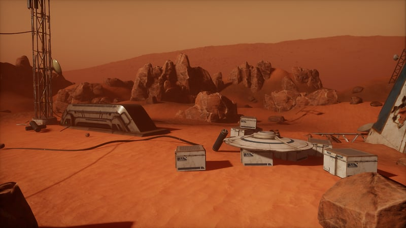 Mars Outpost Alpha