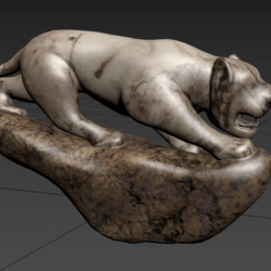 Statues Stone Tiger