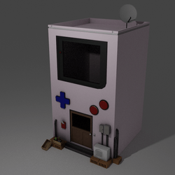 Gameboy House