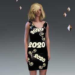 Animated Emissive Dress 2020