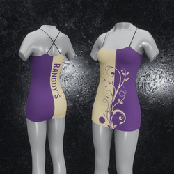 Dress Flora purple