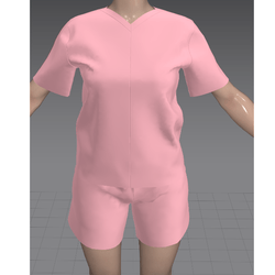 Shorts and Tshirt Pink (TM)