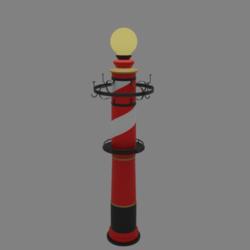 Coat hangers Lamp