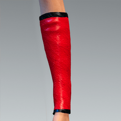 Sleeves Addon Red Leather
