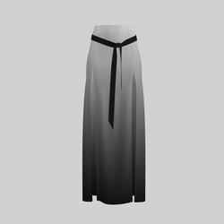 Skirt Briana Gradient Gray 2.0