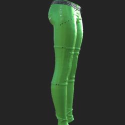 ODARA PANTS LIGHT GREEN