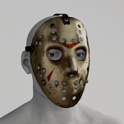 Jason's Mask Metal