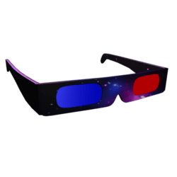 Male 3D Space Themed Shades