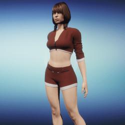 Outfit Jaiyana brown