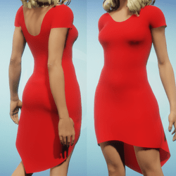 Simply Fun Red Dress