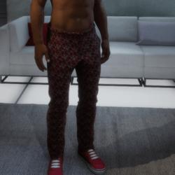 XmasSuitPant_Red