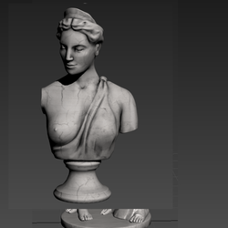 Statues Bust Woman