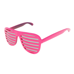 Shutter Glasses (Pink) - Male