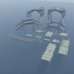 Bridge Building Set