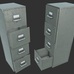 File Cabinet B