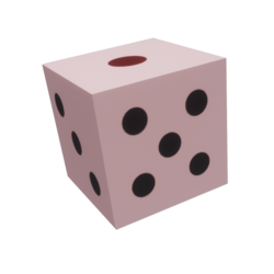 Pink Dice