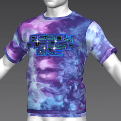 Ready Player One: Logo T-Shirt Variant (Tiedye) (M)