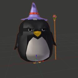 Fat Wizard Penguin