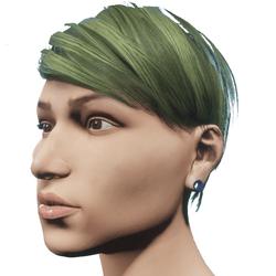 Stretched Ear Lobe (Female)