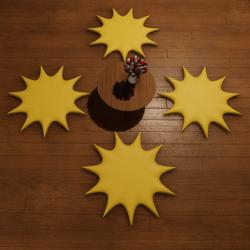 SUNSHINE PILLOWS - CHILL/HANGOUT