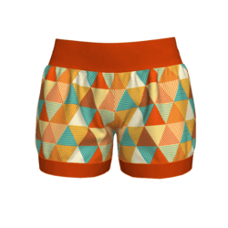 Woman Short - Geometric 2