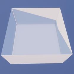 Debug Box 600x600x300 Meters