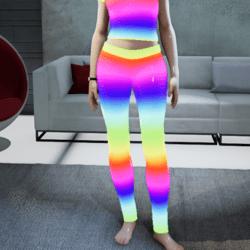 Female go-GLOW Animated Leggings