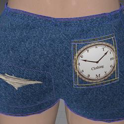 Jean Shorts Branded (TM)