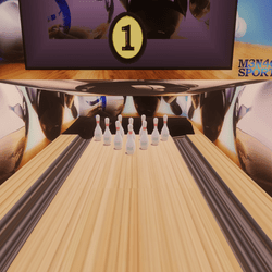Complete Bowling Alley