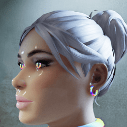 Female go-GLOW Animated Earrings