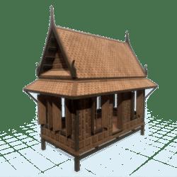 Traditional Thai House 01