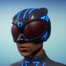BioArmor Helmet Female Blue Light