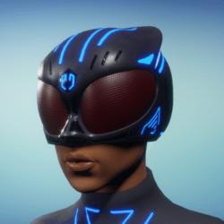BioArmor Helmet Female Blue Light