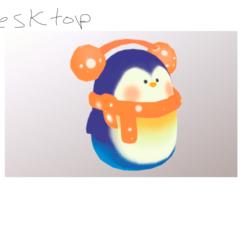 Cute Penquin(DesktopVersion)