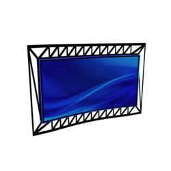 VJ Curve LCD Panel