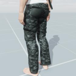 Camo Cargo Pants v2