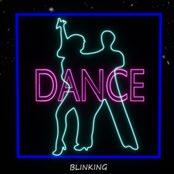 Neon Dance Couple Sign