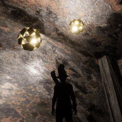 GOLDEN LIGHT BALLS