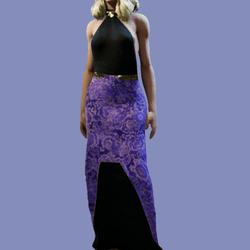 Zoie Purple Lace