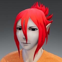 Mukuro hair red