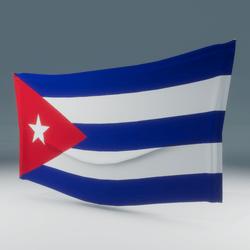 Cuba Flag Wall Display