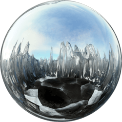 Icescape Glass Top (Bright) Skybox