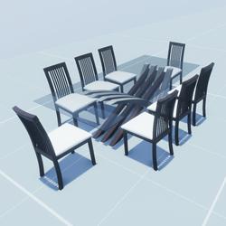 Modern Diner Table Set
