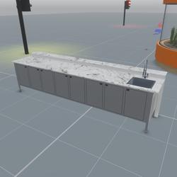 Industrial Prep Counter (TM)