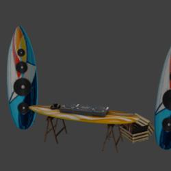 DJ Booth Surf