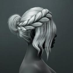 Kim Hair - Gray