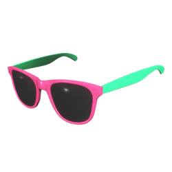 Sunglasses Pink Green - Male
