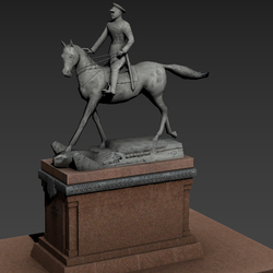 Statues of Marshal Georgy Zhukov