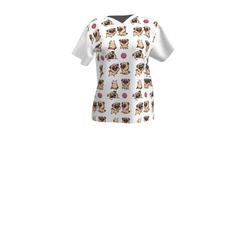 Ladies  - FunPug- T-shirt